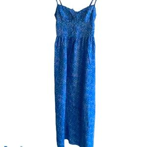 Hollister Maxi Dress with Double Tie Back